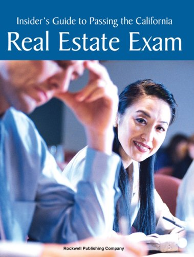 9781887051293: Insider's Guide to Passing the California Real Estate Exam