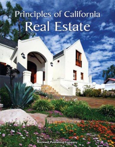 9781887051767: Principles of California Real Estate 16th ed.