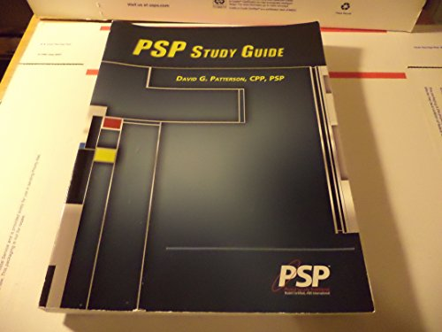 psp study guide abebooks rh abebooks com asis psp study guide pdf Asis PSP Practice Tests