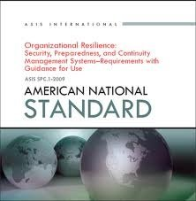9781887056922: Organizational Resilience: Security, Preparedness, and Continuity Management Systems - Requirements with Guidance for Use ASIS SPC 1-2009