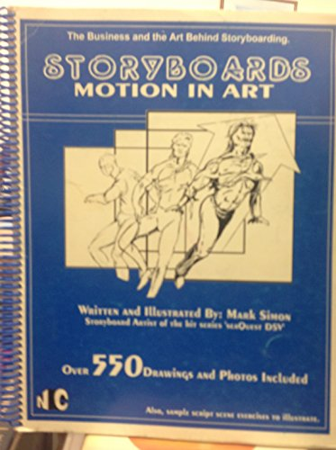 9781887118002: Storyboards: Motion in Art