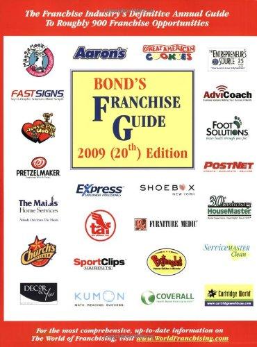9781887137652: Bond's Franchise Guide