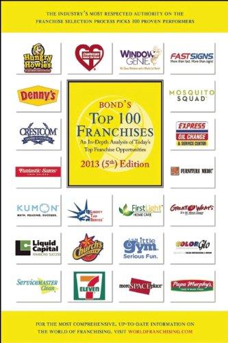 9781887137881: Bond's Top 100 Franchises, 2013