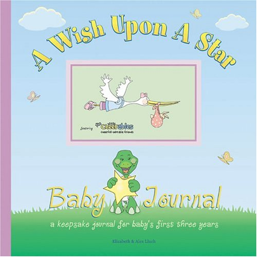 9781887169431: Wish Upon a Star Baby Journal