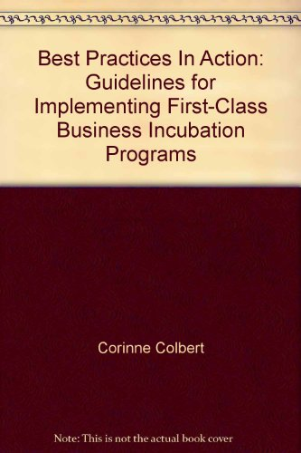9781887183697: Best Practices In Action: Guidelines for Implementing First-Class Business Incubation Programs