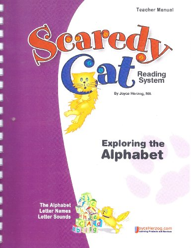 9781887225410: Exploring the Alphabet ~ Scaredy Cat Reading System Teacher Manual (Scaredy Cat Reading System, Exploring the Alphabet)
