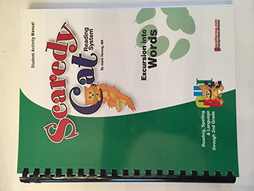 9781887225458: Scaredy Cat Reading System Excursion Into Words the Student Activity Manual (Readin, Spelling & Language Through 2nd Grade, Teacher Manual) (Excursion Into Words ,, Readin, Spelling & Language Through 2nd Grade, Teacher Manual))