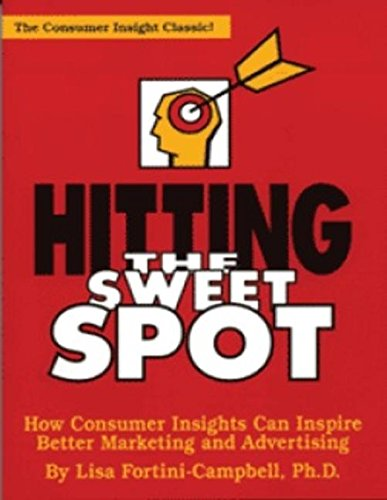 9781887229098: Hitting the Sweet Spot: How Consumer Insights Can Inspire Better Marketing and Advertising (The Copy Workshop)