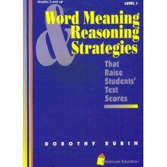 9781887274012: Word meaning & reasoning strategies that raise students' test scores