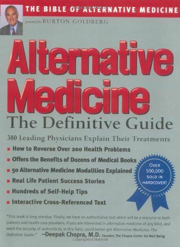 9781887299336: Alternative Medicine : The Definitive Guide