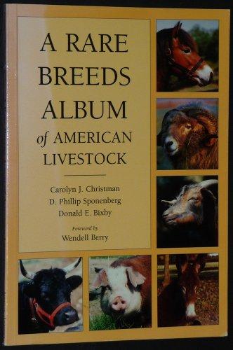 9781887316026: Rare Breeds Album of American Livestock
