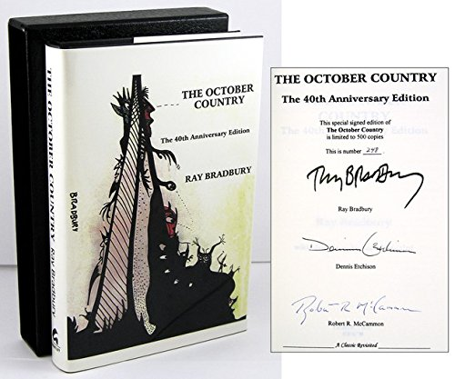9781887368155: THE OCTOBER COUNTRY 40th Anniversary Edition (SIGNED by Ray Bradbury)