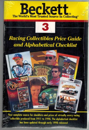 9781887432382: Beckett Racing Price Guide and Alphabetical Checklist (Beckett Racing Collectibles Price Guide)