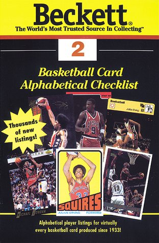 Basketball Card Alphabetical Checklist: Number 2 (Beckett Basketball Card Alphabetical Checklist): ...