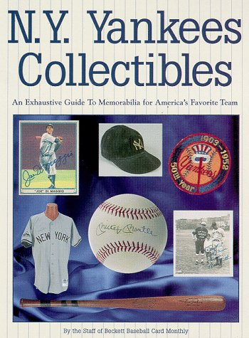 9781887432658: NY Yankees Collectibles: A Price Guide to Memorabilia for America's Favorite Team