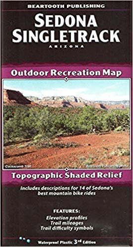 9781887460088: Sedona Core Trails Outdoor Recreation Map (Arizona Maps, 2)