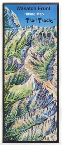 9781887489065: Wasatch Front Panoramic Hiking Map