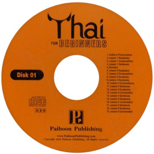 9781887521314: Thai for Beginners. 2 audio CDs only