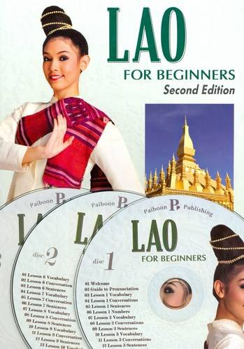 Lao for Beginners. Pack (book + 3 audio CDs): B. Simmala; Benjawan Poomsan Becker