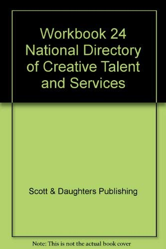 9781887528887: Workbook 24 National Directory of Creative Talent and Services