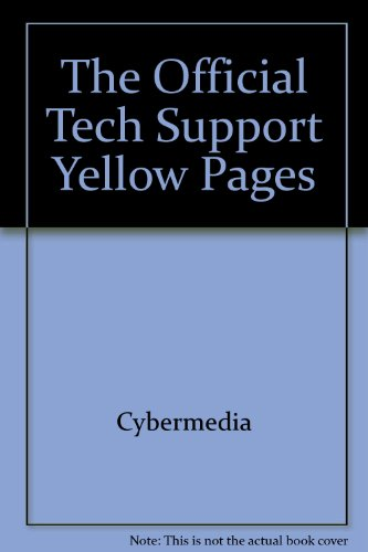 9781887556217: The Official Tech Support Yellow Pages