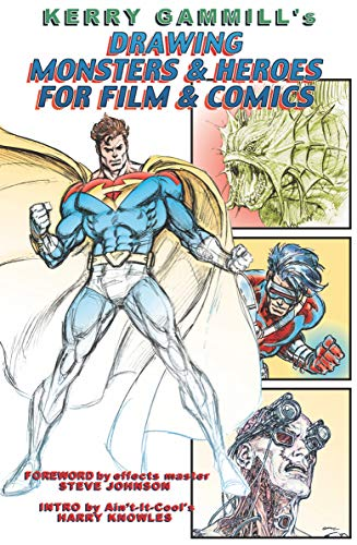 9781887591164: Drawing Monsters & Heroes for Film & Comics PB