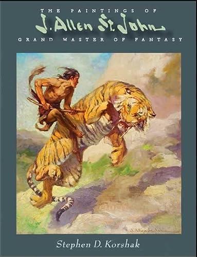 9781887591881: PAINTINGS OF J ALLEN ST JOHN HB: Grand Master of Fantasy