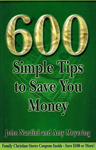 9781887654531: 600 Simple Tips to Save You Money