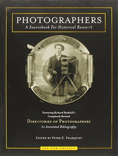 9781887694179: Photographers: A Sourcebook for Historical Research