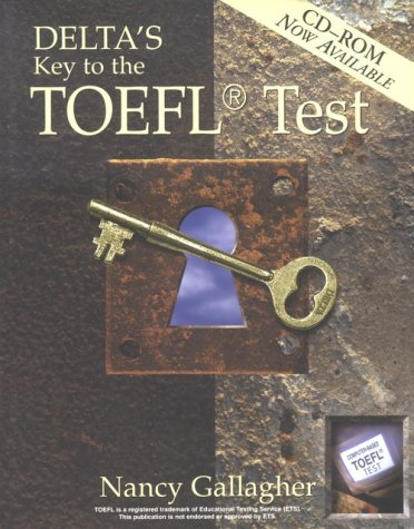 9781887744607: Delta's Key to the TOEFL Test