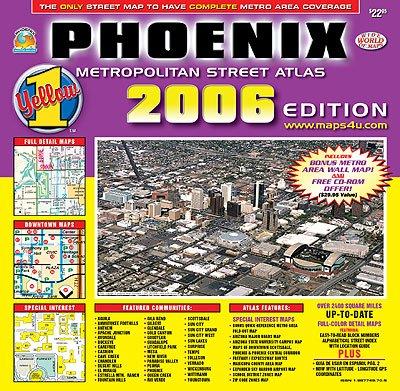 Phonenix Metropolitan Street Atlas 2006 Edition-Wide World of Maps: Wide World of Maps