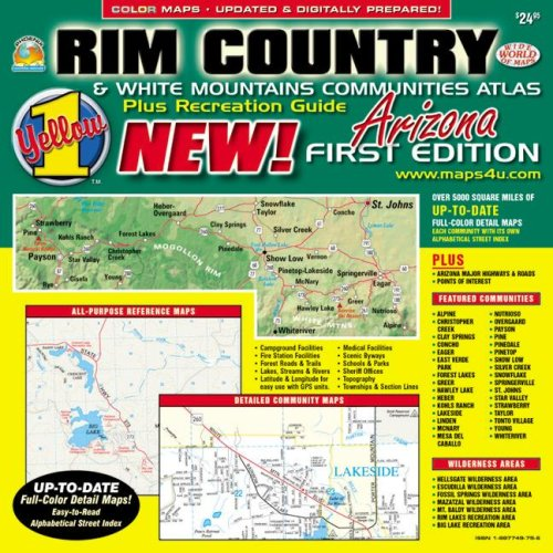 Rim Country & White Mountain Communities Atlas: Phoenix Mapping Service