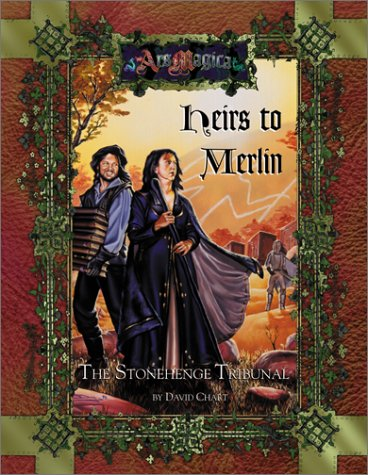 9781887801799: Heirs to Merlin: The Stonehenge Tribunal (Ars Magica Fantasy Roleplaying)