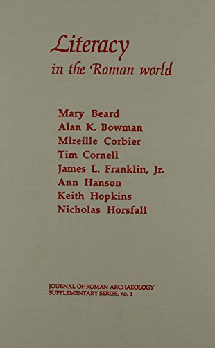 9781887829038: Literacy in the Roman World (Journal of Roman Archaeology Supplementary Series #3)