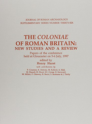 9781887829366: The Coloniae of Roman Britain: New Studies & A Review (Journal of Roman Archaeology Supplementary Series # 36)