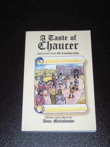 9781887840279: A Taste of Chaucer, Selections from The Canterbury Tales