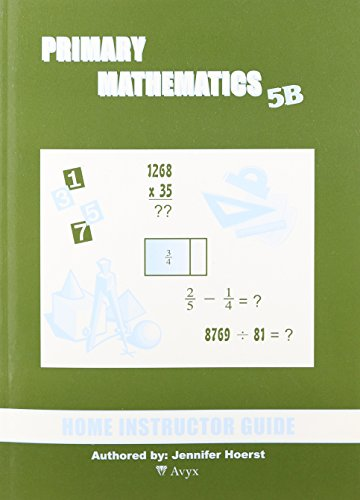 9781887840873: Singapore Primary Mathematics 5B Home Instructor Guide