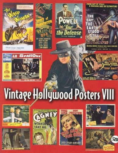 9781887893596: Vintage Hollywood Posters Viii