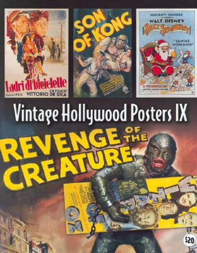 9781887893619: Vintage Hollywood Posters IX Book 9