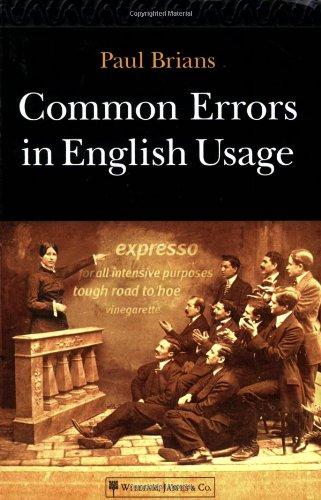 9781887902892: Common Errors in English Usage