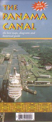 9781887910026: Panama Canal Map by Cruise Map Publishing Company