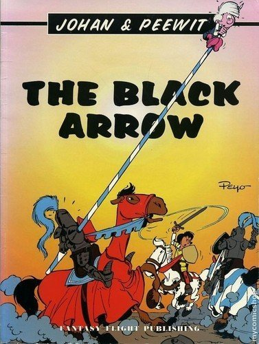 The Black Arrow (Johan & Peewit): Peyo