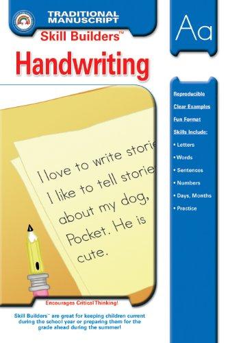 9781887923019: Handwriting - Traditional Manuscript (Skill Builders™)