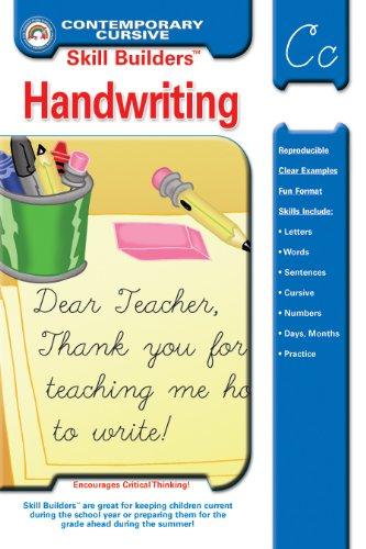 9781887923071: Handwriting Workbook: Contemporary Cursive (Skill Builders™)