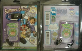 9781887923279: Summer Brains!: Basic Skills on the Go!: Moving from Grades K to 1