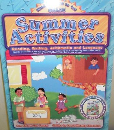 Kindergarten to 1st Grade Summer Activities (Summer Bridge Activities - Student Workbook): Award ...