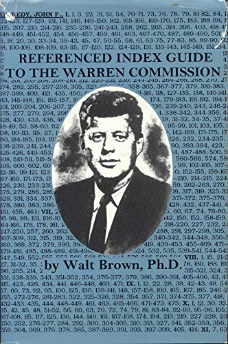 9781887934008: Referenced Index Guide to the Warren Commission