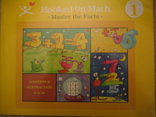 Hooked on Math: Master the Facts, Addition and Subtraction, Level 1 Workbook: Leslie McGuire, ...