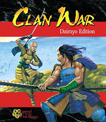 9781887953092: Clan War (Legend of the Five Rings)