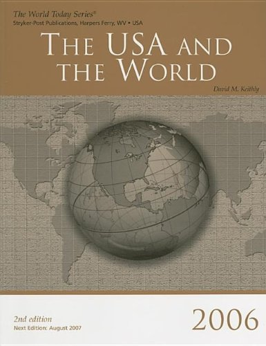 The USA & the World 2006 (World Today Series USA & the World): Charles H. Cutter